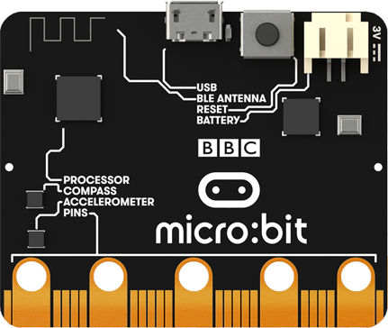 back of BBC micro:bit
